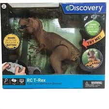 Discovery RC T-Rex Radio Controlled Action Dinosaur - Green Radio Controlled Toy