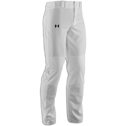 Under Armour Men's Clean Up Baseball Pants White/Black Size Small by Under Armour