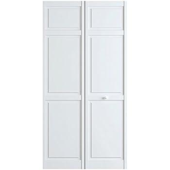 Amazon Closet Door Bi Fold 6 Panel Style Primed White 1x30x80
