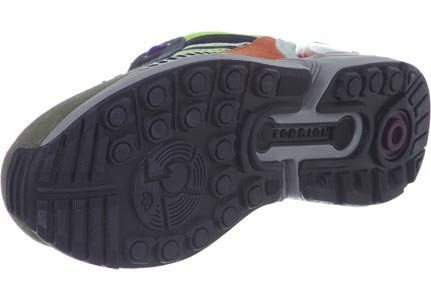 adidas Herren ZX 8000 Sneaker gelb oliv schwarz
