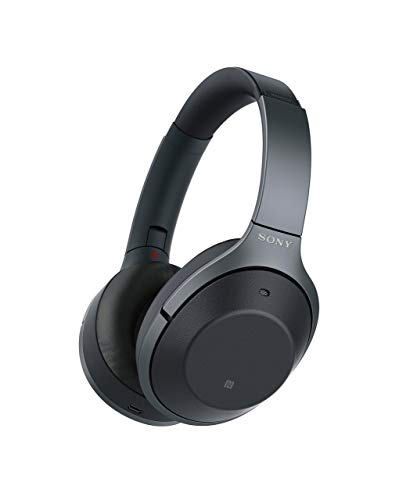 Sony WH1000XM2 Premium Noise Cancelling Wireless Headphones ? Black (WH1000XM2/B) (Certified Refurbished)