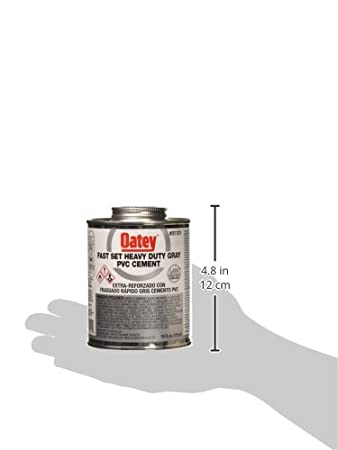 Oatey 31121 Hydraulic Cements, 16 oz, Gray - Contact Cements - Amazon.com