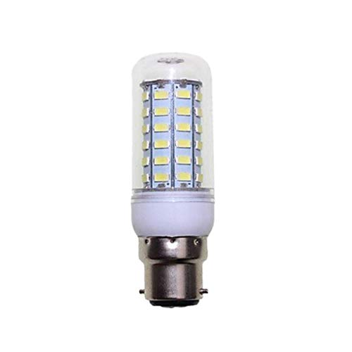 Minzhi B22-5630SMD LED Corn Light Silver Side Cover 56 Beads LED Corn Bulb Bright Light Replacment Warm Light - Bead Bulb Covers