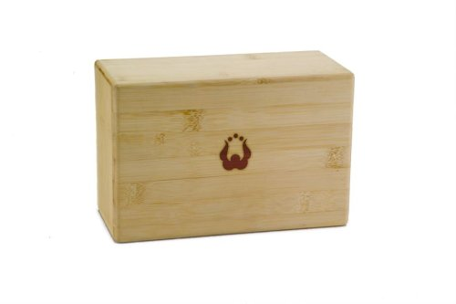 "Natural Fitness Bamboo Yoga Block (4"" x 6"" x 9"")"