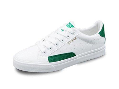 Libero Correre Bianco Basso Comodo Xie 39 38 Movimento Tavolo Green Bottone Da Permeabilità White Verde Scarpe Whitegreen Usura Tempo qwxHP8Iw
