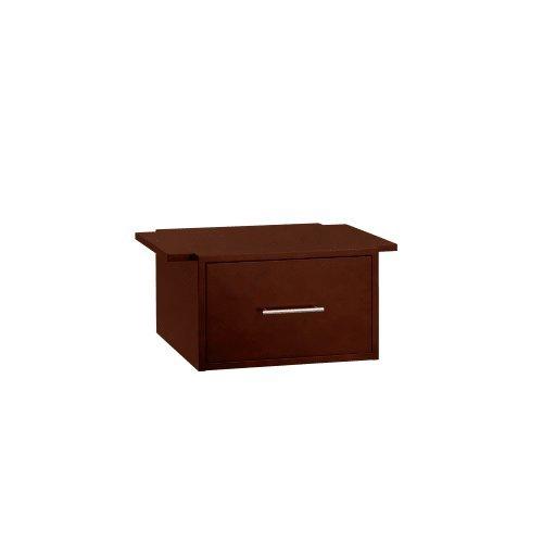 RonBow 667025 Rowena 25'' Hardwood Bottom Drawer, Dark Cherry