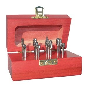 Monster Tool - 310-120026 - Carbide Bur Set, Double Cut, 12 piece by Monster Tool
