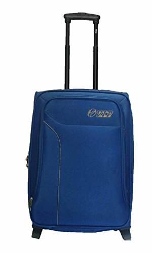 VIP Polyester 75 cms Blue Soft Sided Suitcase (STBRO74BLU)