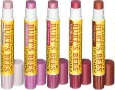 Burt s Bees Beeswax Shimmer Lip Balm in 5 Assorted Shades