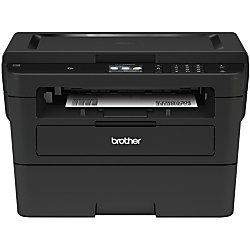 Brother Compact Monochrome Laser Printer, HLL2395DW, Flatbed Copy & Scan, Wireless Printing, NFC, Cloud-Based Printing & Scanning, Amazon Dash Replenishment Enabled by Brother