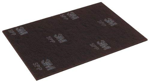Scotch-brite 14'' x 20'' Non-Woven Rectangular Stripping Pad, 175 to 600 rpm, Maroon, 10 PK SPP14X20-1 Each by Scotch-Brite