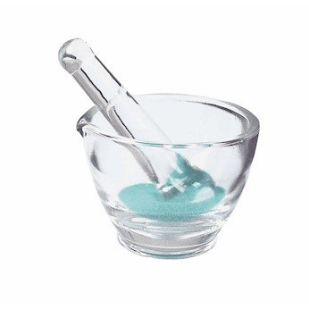 Pestle Glass (Mortar & Pestle Set, glass, 227 mL, 98 mm OD, 1/pk)