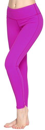 women-power-flex-yoga-pants-workout-running-leggings-all-colors-fushia-s