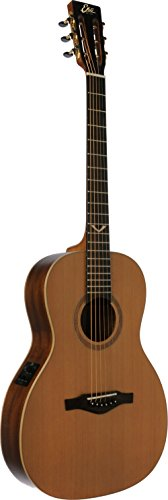 EKO Guitars 06217060 EVO Series Acoustic-Electric Parlor Guitar