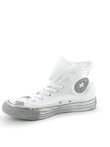 Converse Ctas Hi unisex erwachsene, canvas, sneaker low Weiß