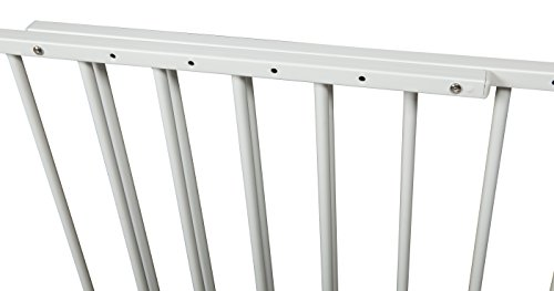 Stork Craft Easy Walk-Thru Metal Safety Gate, White