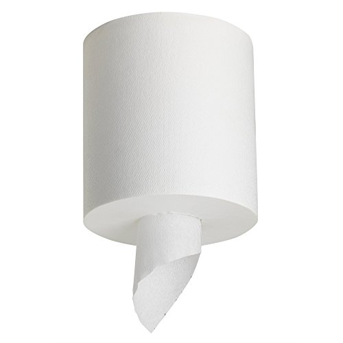 Georgia Pacific Professional 28124 SofPull Center-Pull Perforated Paper Towels,7 4/5x15, White, 320 Per Roll (Case of 6 Rolls)