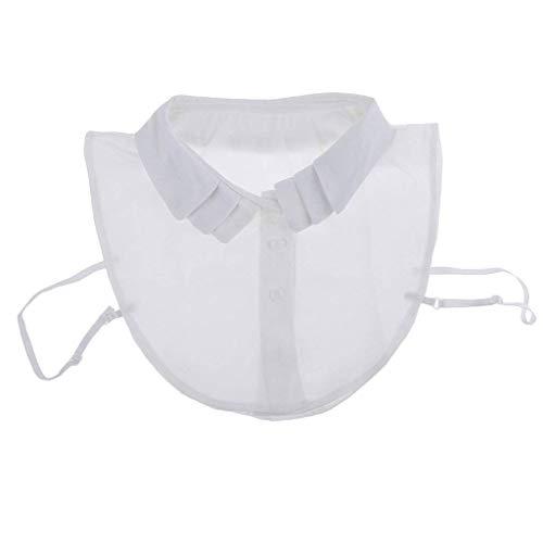 Lunga Blusa Giovane Donne Bavero Camicetta Moda Monocromo Breasted Manica Autunno Camicia Donna Shirt Eleganti White1 Stlie Primaverile Single Grazioso Chiffon Tops Casual Zn0HxqX4w