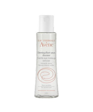 AVÈNE GENTLE EYE MAKE-UP REMOVER Removes even waterproof make-up 125 ml Made in France Pierre Fabre Ltd