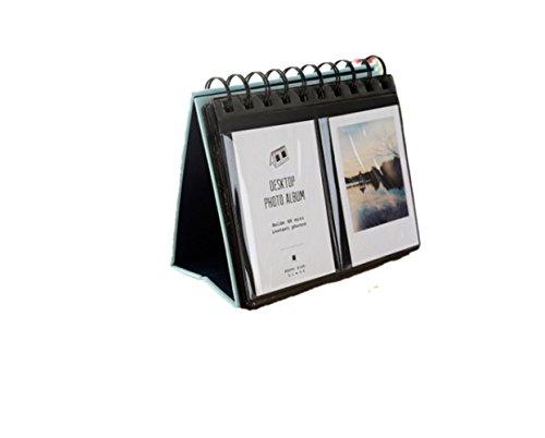 DADA 68 Pockets Mini Photo Album - Desktop Instax Frames Collection for Fujifilm Instax Mini 8 70 7s 25 50s 90 Film/Pringo 231 Film/Fujifilm Instax SP 1 / Polaroid PIC-300P Film (blue) by DADA