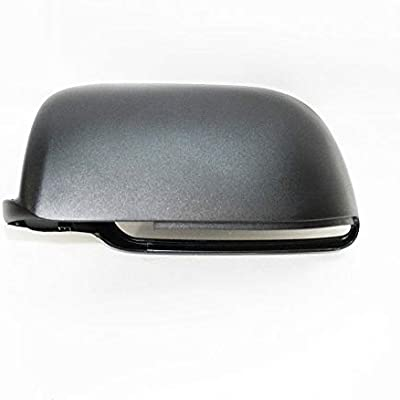 Left Side Wing Mirror Cover Cap Casing Black For VW Volkswagen Polo 02-05