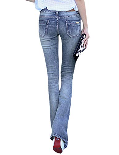 Talla Jeans Cut Mujer Boot Flares Pantalones Zarco Vaqueros Bota Limamai Alta Cintura Grande Corte FnE6w80qnY