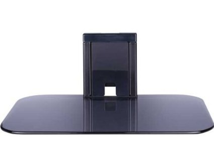 Sanus On-Wall Glass Shelf (Black)