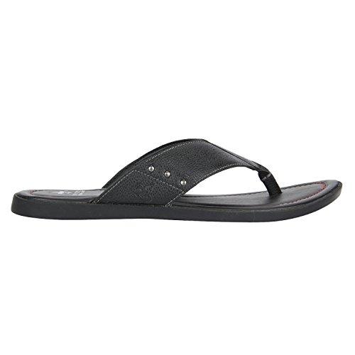 Men's Black Hawaii Thong Sandals at