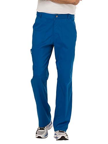Cherokee Men's Fly Front Pant Short, Royal, ()