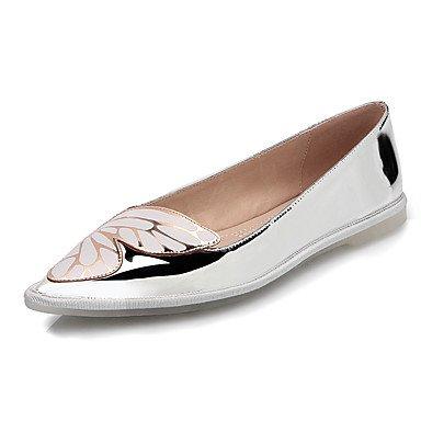 Cómodo y elegante soporte de zapatos de las mujeres botas de moda botas/punta Toe Ante fiesta y tarde/vestido/casual tacón Stiletto lentejuelas/cremallera negro y dorado