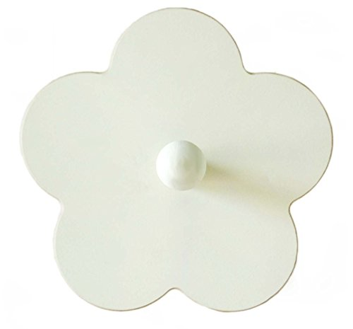 Wooden Flower Wall Peg