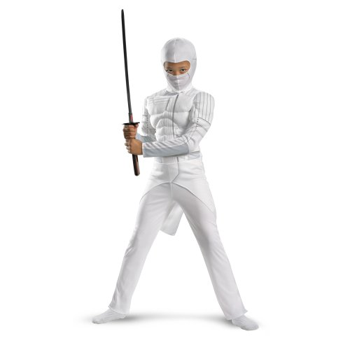 Costume Storm Shadow (G.i. Joe Retaliation Storm Shadow Classic Muscle Costume, White,)