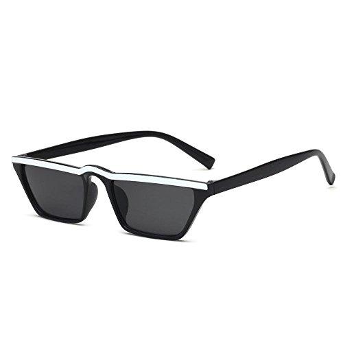 pequeño Gafas Hombres de Gato y de de Cejas Europa Ojo F Gafas creativos Marco de los Estados Axiba Unidos Retro Las Regalos Sol Sol de Gafas de 0ZxwCBq