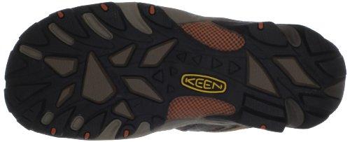 Keen Utility Hombres Flint Zapato De Trabajo Con Punta De Acero Baja Shitake / Rust