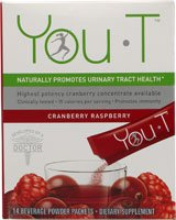 Vous-T sur la santé des voies urinaires, les paquets, Framboise Cranberry, 14 ch