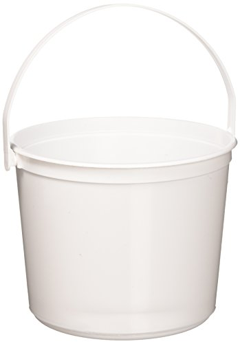 Plastic Buckets | White | 12 Ct.