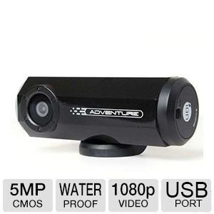 iON Adventure 8MP 1080p Action Video Camera with Wi-Fi Capable and Built-In GPS Receiver