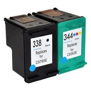 Prestige Cartridge 2 Compatible 338 344 Cartuchos de Tinta para HP ...