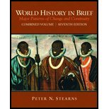 World History in Brief : Major Patterns of Change and Continuity, Stearns, Peter N., 0205785913