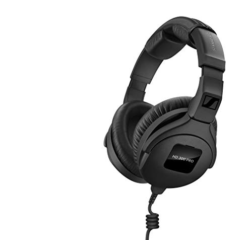 Sennheiser Headphones, Black (HD 300 PRO) ()