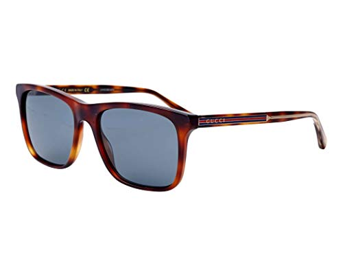 Sunglasses Gucci GG 0381 S- 009 HAVANA/BLUE ()