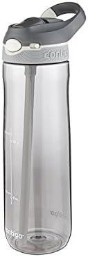 Contigo Autospout Ashland Botella de agua con popote, Humo, 24 oz (709 ml), 1