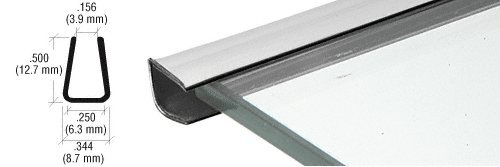 Chrome Plastic Reflective Edge Mold