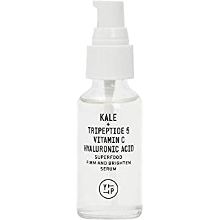 Youth To The People Superfood Firm and Brighten Vitamin C Serum - Clean Skincare - Vegan Peptide Facial Serum with Kale + Hydrating Hyaluronic Acid (1oz)