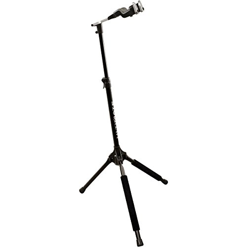 Ultimate Support GS-1000 PRO Genesis Series Guitar Stand with Locking Legs and Self-closing Yoke Security Gate ()