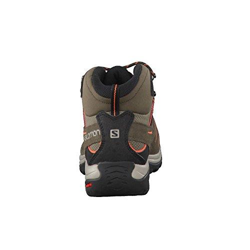 Salomon 2 Mid SS16 kaki da LTR Passeggio Scarpe Ellipse Women's GTX r7qFArx5w