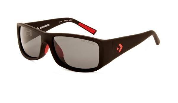 Converse - Gafas de sol Wrap Offense para hombre, Black ...