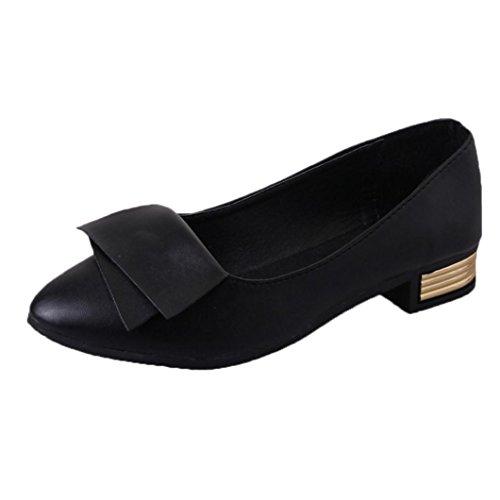 spitzen Schuhe Sommer Lady Frühling Schwarz Office und IGEMY Hochzeit 60Ycq