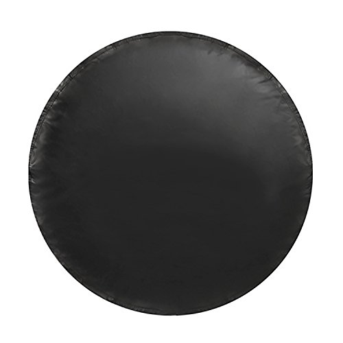(Spare Tire Cover - Must-Have Car Accessories for Your SUV, Jeep, RV, Trailer, Truck - Fit Most Wheel Sizes by Kankesh (XL(17 INCH), Black))
