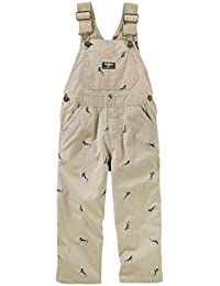 Baby Boys' Striped Overalls